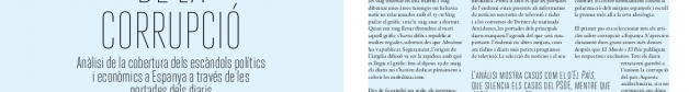 """Texto """"El Color de la corrupción"""" según apareció en en la revista Capçalera"""