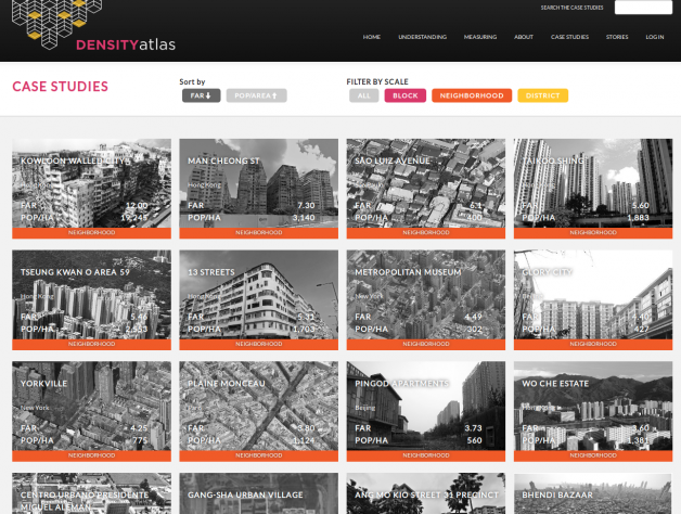 Density Atlas case studies archive. Gallery view