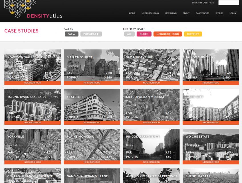 Density Atlas Archive des études de cas. Galerie.
