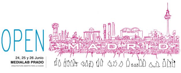 Open Madrid 2013 en Medialab Prado