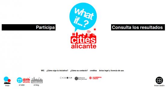 Página de inicio de What if...? Alicante