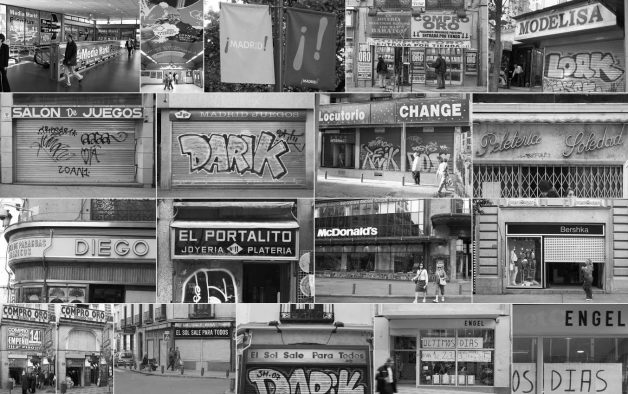 Imágenes de tipografía comercial en Madrid