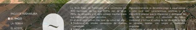 Pago de Peñarrubia. Sección El Pago