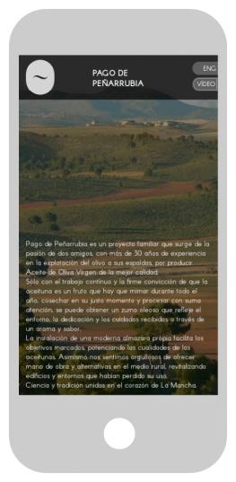 Pago de Peñarrubia. Versión móvil