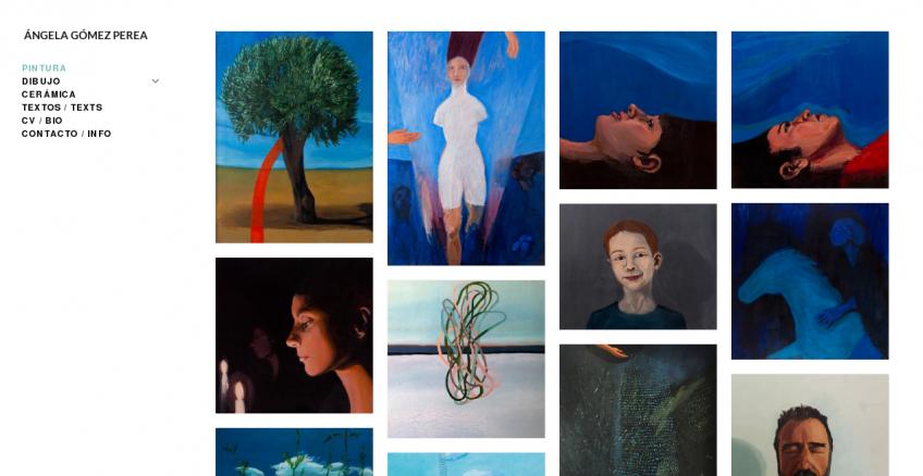 Portfolio de Ángela Gómez Perea: mosaico de obras