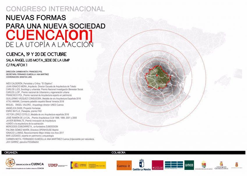 Cartel Congreso Internacional Nuevas formas para una nueva sociedad