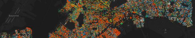 Visualización de las especies vegetales de NYC