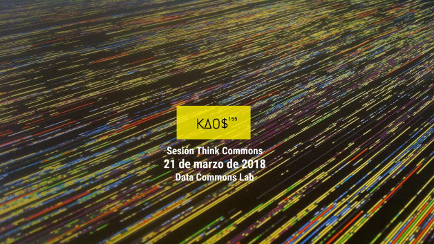 Cartel Thinkcommons Kaos155