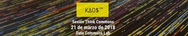 Cartel Thinkcommons Kaos155
