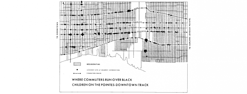 Commuters run over black children