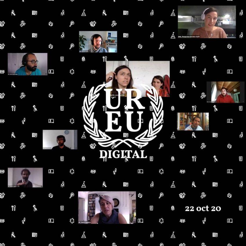 Cartel Embajada digital de la Edición Europea del proyecto Urban Rights