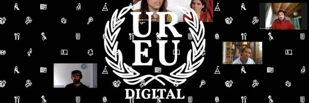 Cartel Embajada digital de la Edición Europea del proyecto Urban Rights