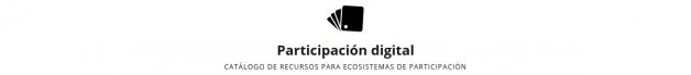 Captura de pantalla de participaciondigital.es